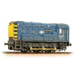** Bachmann 32-115B Class 08 08818 BR Blue Wasp Stripes Weathered