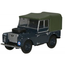 ** Oxford Diecast 76LAN180004 Land Rover Series 1 80'' Canvas RAF