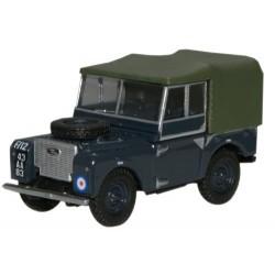 ** Oxford Diecast 76LAN180004 Land Rover Series 1 80'' Canvas RAF