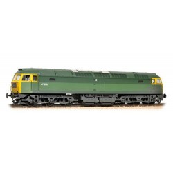 ** Bachmann 31-656 Class 47/0 47256 BR Green Full Yellow Ends (TOPS) Weathered