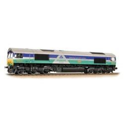** Bachmann 32-738 Class 66 66711 'Sence' GBRF Aggregates
