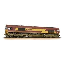 ** Bachmann 32-737 Class 66 66065 Ex-EWS (DBS Branding) - Weathered