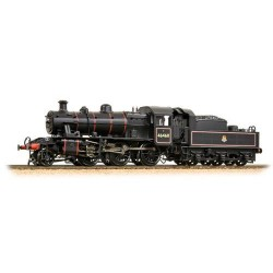 ** Bachmann 32-826A Ivatt Class 2MT 2-6-0 46460 BR Lined Black Early Emblem