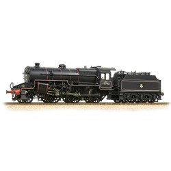 ** Bachmann 32-176 Crab 42765 BR Lined Black Early Emblem Welded Tender with Coal Rails
