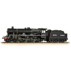 ** Bachmann 31-190 Jubilee 45575 'Madras' BR Black British Railways Lined Black (Riveted Stanier tender)
