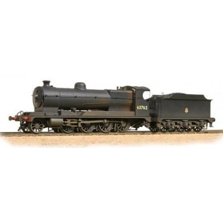 ** Bachmann 31-004A Robinson Class O4 63762 BR Black Early Emblem Weathered