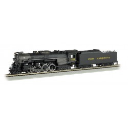 ** Bachmann 50902 2-8-4 Berkshire Pere Marquette 1218 (DCC On Board)