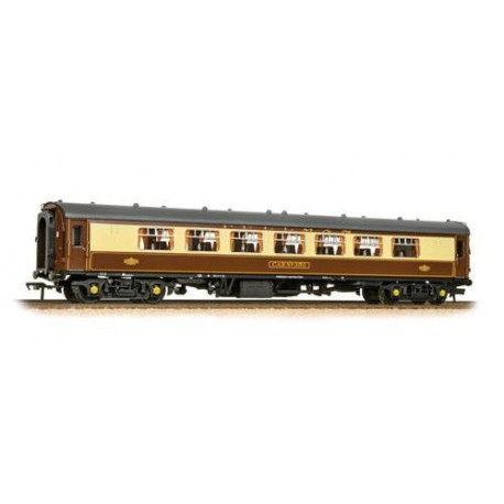 ** Bachmann 39-310C x 2 BR Mk1 SP Pullman Second Parlour Umber & Cream (With Lighting)