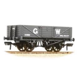 ** Bachmann 37-068 x 4 5 Plank Wagon Wooden Floor GWR Grey