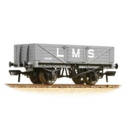 ** Bachmann 37-070 c x 4 5 Plank Wagon Wooden Floor LMS Grey
