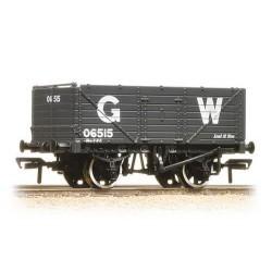 ** Bachmann 37-087 x 4 7 Plank End Door Wagon GWR Grey