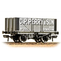 ** Bachmann 37-117 x 4 7 Plank Fixed End Wagon C. P. Perry
