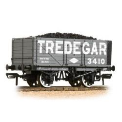 ** Bachmann 37-091 x 4 7 Plank End Door Wagon Tredegar - with Wagon Load