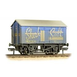 ** Bachmann 33-179B x 4 10 Ton Covered Salt Wagon 'Shaka Salt' Weathered