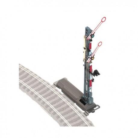 ** Fleischmann 6596 Spare Part Single Fixing Plate for Semaphore Signal