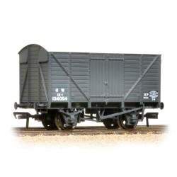 ** Bachmann 37-730C x 4 12 Ton Ventilated Van GWR Grey