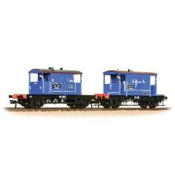 ** Bachmann 38-990 x 4 20 Ton Brake Van & SR Pill Box Twin Pack Network SouthEast