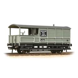 ** Bachmann 33-306D x 4 20 Ton Toad Brake Van BR Grey