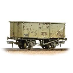 ** Bachmann 37-253B x 4 16 Ton Steel Mineral Wagon BR Grey Weathered