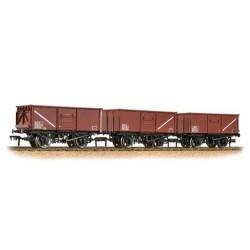 ** Bachmann 37-238 x 4 Triple Pack 16 Ton Steel Mineral Wagon BR Bauxite
