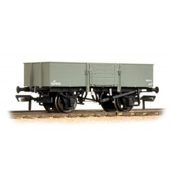 ** Bachmann 38-330 x 4 13 Ton H/Sided Steel Wagon (Smooth Sides & Wooden Doors) BR Grey