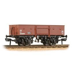 ** Bachmann 38-331 x 4 13 Ton H/Sided Steel Wagon (Chain Pockets) LNER Bauxite