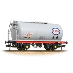 ** Bachmann 37-576C x 4 45 Ton TTA Tank Wagon Esso Grey