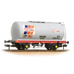 ** Bachmabb 37-580A x 445 Ton TTA Tank Wagon Total Grey