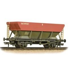 ** Bachmann 38-006D x 4 46 Tonne HEA Hopper BR Railfreight Red Grey & Weathered