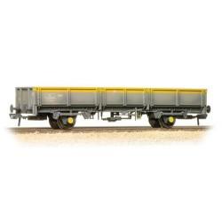 ** Bachmann 38-059 x 2 ZDA Bass Dropside Open Wagon BR Grey & Yellow Weathered