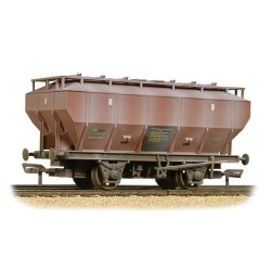 ** Bachmann 38-500A x 4 Covhop Wagon BR Bauxite - Heavily Weathered