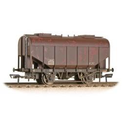 ** Bachmann 38-602A x 4 21 Ton Grain Hopper BR Bauxite (Late) Heavily Weathered