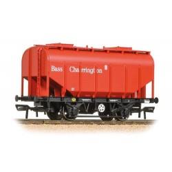 ** Bachmann 38-603 x 4 21 Ton Grain Hopper BR PO Bass Red