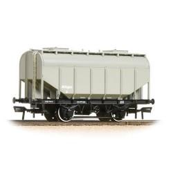 ** Bachmann 38-604 x 4 21 Ton Grain Hopper BR PO Worthington Grey