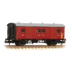 ** Graham Farish 374-415 x 2 Southern PL Passenger Luggage Van BR Crimson