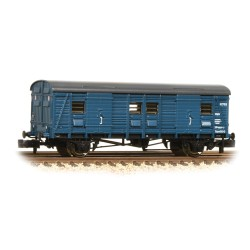 ** Graham Farish x 2 Ex-Southern CCT Covered Carriage Truck BR Blue
