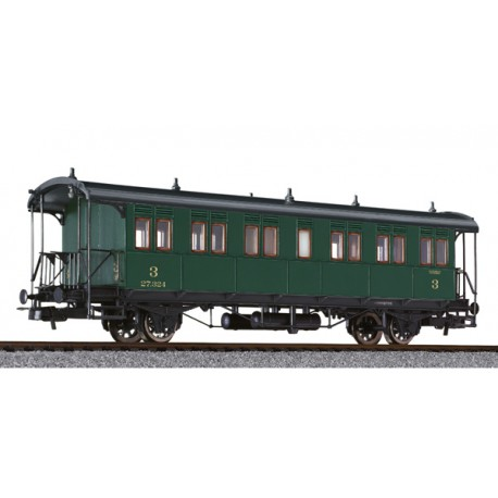 ** Liliput L334009 x 1 Passenger Coach 3rd Class Ci 27.324 SNCB Ep.II