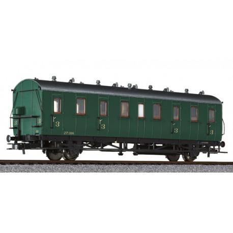 ** Liliput 334050 x 1 Passenger Coach 3rd Class Cd-21  27.316 SNCB Ep.II