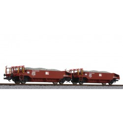 ** Liliput L230113 x 1 Ballast Wagon Set with Ballast Load SOB Ep.VI