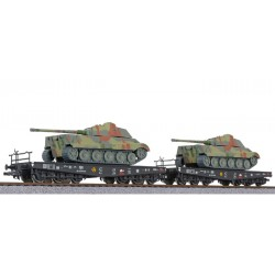 ** Liliput L230144 x 1 2-unit tank transport set