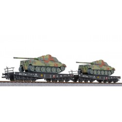 ** Liliput L230145 x 1 2-unit tank transport set