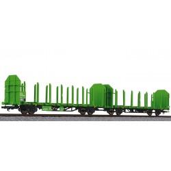 ** Liliput L 235240 x 1 Timber Carrier Wagon Laaps 565 DB Ep.V/VI