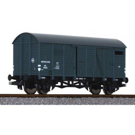 ** Liliput L235071 x 1 Covered Goods Wagon NS, Ep.III
