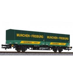 ** Liliput L235220 x 1 Flat Wagon Lgjs 571 DB Ep.IV
