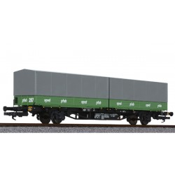 ** Liliput 235221x 1 DB Intermodal Wagon Lgjs 571.1 DB 'Sped/Pfab' Ep.IV