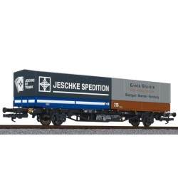 """** Liliput 235222 x 1 Container Wagen """"Jeschke"""""""