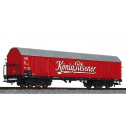 ** Liliput L235660 x 1 Four Axle Beer Wagon 'Konig Pilsener' DB Ep.IV