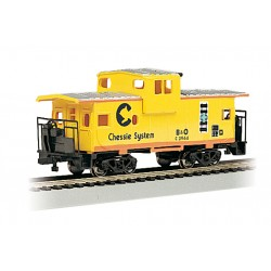 ** Bachmann 17709 x 1 36' Wide-Vision Caboose Chessie System Yellow