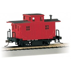** Bachmann 18449 x 1 Bobber Caboose Red Unlettered