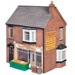 ** Graham Farish 42-0046  x 1 Scenecraft Corner Store (Pre-Built)